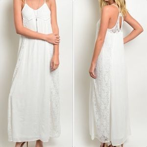 Goddess Flowy Maxi Dress